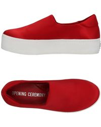 Opening Ceremony Low-tops & Trainers - Red