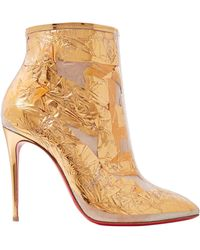 Christian Louboutin Ankle Boots - Metallic