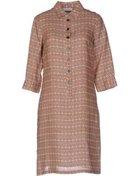 Zanetti 1965 Short Dress - Orange