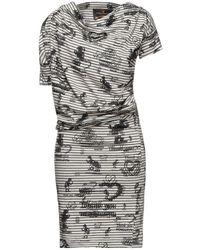Vivienne Westwood Anglomania Knee-length Dress - Gray