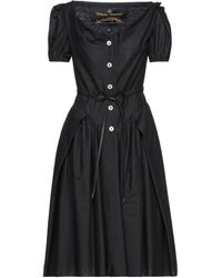 Vivienne Westwood Anglomania Knee-length Dress - Black