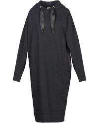 Brunello Cucinelli Knee-length Dress - Gray