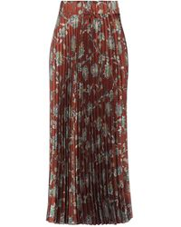 Souvenir Clubbing 3/4 Length Skirt - Brown