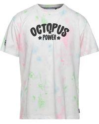 Octopus T-shirt - White