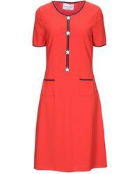 Giorgio Grati Midi Dress - Red