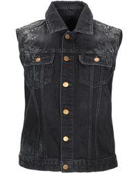 Jil Sander Denim Outerwear - Black