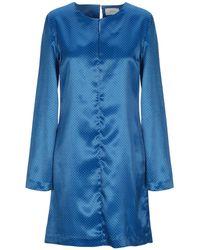ViCOLO Short Dress - Blue