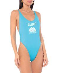 Sundek Badeanzug - Blau