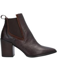 Mally Ankle Boots - Brown