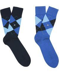 Burlington Socquettes - Bleu