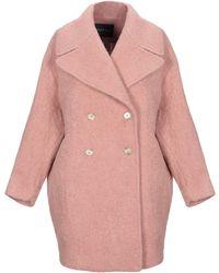 Ottod'Ame Coat - Pink