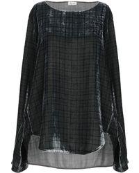 Her Shirt Blouse - Grey