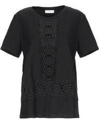 Sandro T-shirts - Schwarz