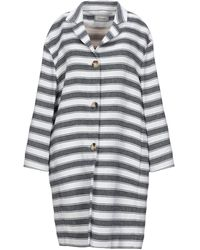 Cappellini By Peserico Overcoat - Blue