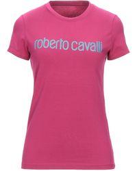 Roberto Cavalli T-shirt - Viola