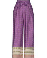 MÊME ROAD Pantalones - Morado