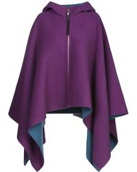 Emilio Pucci Capes & Ponchos - Purple