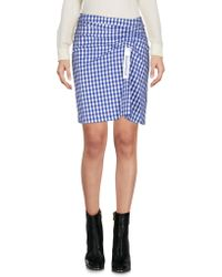 Steve J & Yoni P - Mini Skirt - Lyst