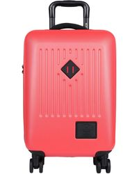 Herschel Supply Co. Wheeled luggage - Red