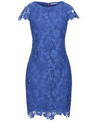 Alice + Olivia Short Dress - Blue