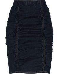 WEILI ZHENG Jupe en jean - Bleu
