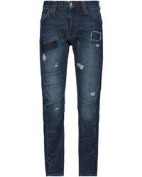 Philipp Plein Denim Trousers - Blue