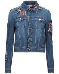RED Valentino Denim Outerwear - Blue
