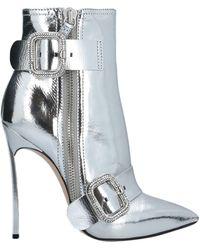 Casadei Ankle Boots - Metallic