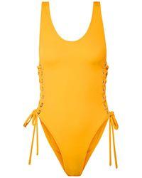 OYE Swimwear Bañador - Amarillo