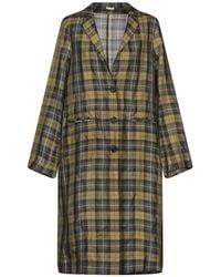 Massimo Alba Overcoat - Green