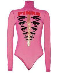 Pinko Camiseta - Rosa