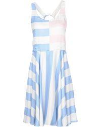 Twisty Parallel Universe - Short Dress - Lyst