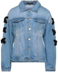 English Factory Capospalla jeans - Blu