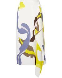 Tibi - 3/4 Length Skirt - Lyst