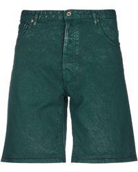 Just Cavalli Short en jean - Vert