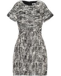 Lavand Short Dress - Black
