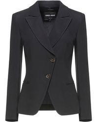 Giorgio Armani Suit Jacket - Black