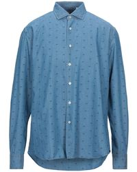Xacus - Denim Shirt - Lyst