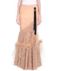 DSquared² Long Skirt - Multicolour