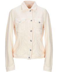 Care Label Jacket - White