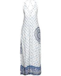 Desigual Langes Kleid - Weiß