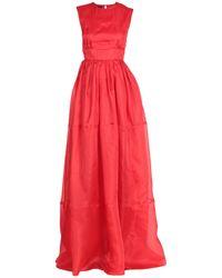Rochas Vestito lungo - Rosso