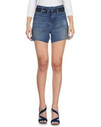 Hudson Jeans - Denim Shorts - Lyst