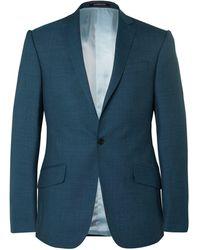 Richard James Suit Jacket - Blue