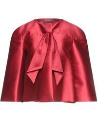 Alberta Ferretti Suit Jacket - Red