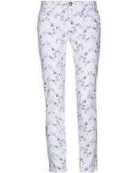 Current/Elliott Denim Trousers - White
