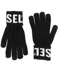 DIESEL Gloves - Black