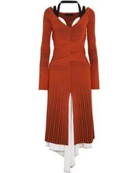 Proenza Schouler - 3/4 Length Dress - Lyst