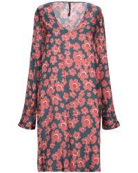 Manila Grace Short Dress - Pink