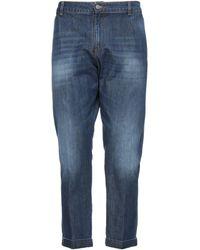 Exibit Denim Trousers - Blue